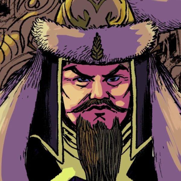 Genghis Khan Stan lee's Lucky Man: The Bracelet Chronicles clip